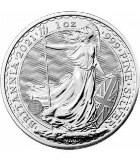 1 Unze Silber Britannia 2021