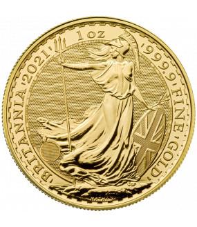 UK Gold Britannia - 1 oz - 2021