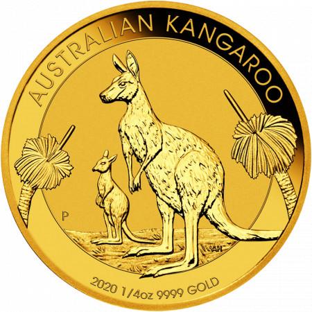 Australian Kangaroo - 1/4 oz - 2021