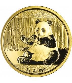 8 g Gold China Panda - diverse