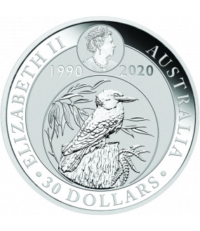 1 kg Silber Kookaburra 2020